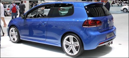 Volkswagen Golf R IAA Autosalon Frankfurt