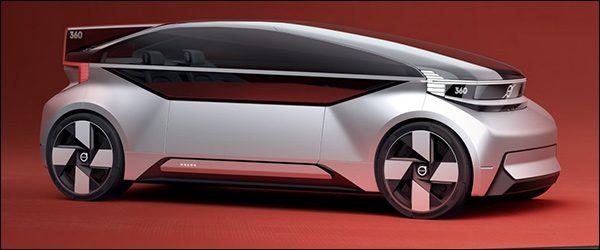 Officieel: Volvo 360c Concept (2018)