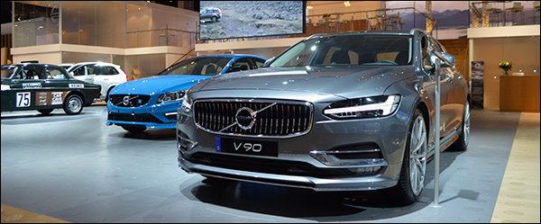 Autosalon Brussel 2017 live: Volvo (Paleis 6)
