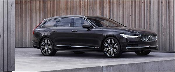 Officieel: Volvo S90 Berline en V90 Break facelift (2020)