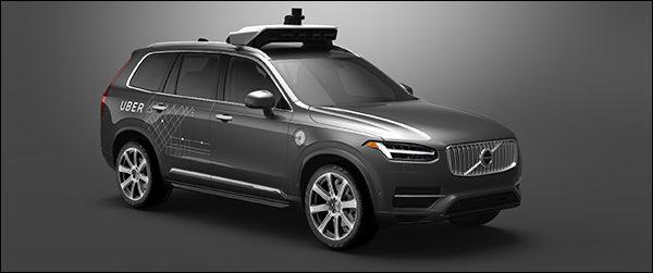 Volvo en Uber gaan samen autonoom rijdende wagens ontwikkelen