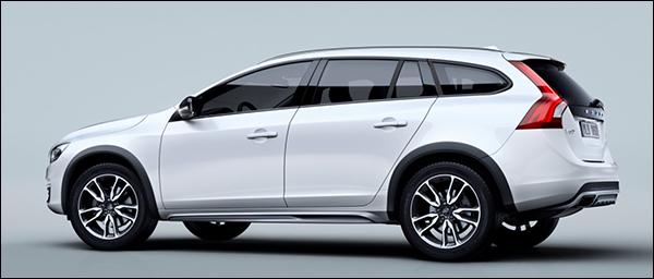 Officieel: Volvo V60 Cross Country