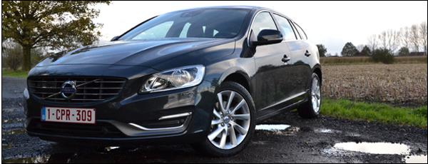 Volvo V60 D4 2014 Rijtest