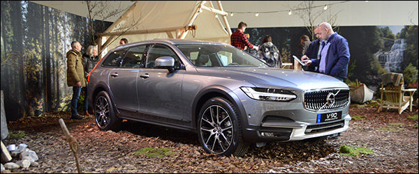 Autosalon Brussel 2017 live: Volvo V90 Cross Country