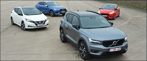 Volvo XC40 verkozen tot Lease Car of the Year 2018