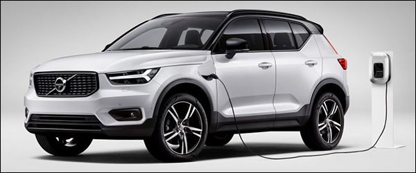 Officieel: Volvo XC40 T5 Twin Engine plug-in hybride (2018)