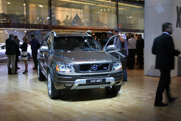 Frankfurt 11 Volvo Xc90 Facelift Groenlicht Be