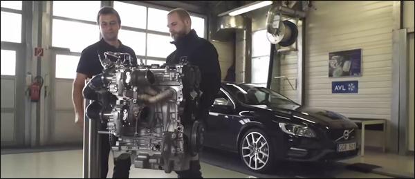 Volvo viercilinder 450 pk