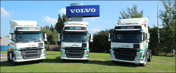 Volv experimenteert binnenkort met zelfrijdende trucks in België