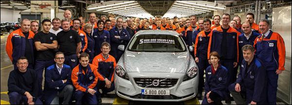 Volvo V40 Gent Cars 5 miljoen