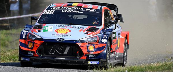 De Ypres Rally maakt dit jaar deel uit van het WRC kampioenschap (2020)
