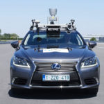 Toyota stuurt zelfrijdende wagen door Brussel