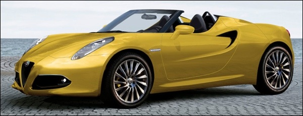 Preview Alfa Romeo 4C Spider 2014