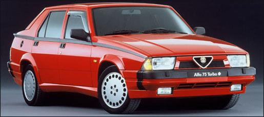 1992 Alfa Romeo 75