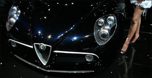 Alfa Romeo 8C Competizione Frankfurt