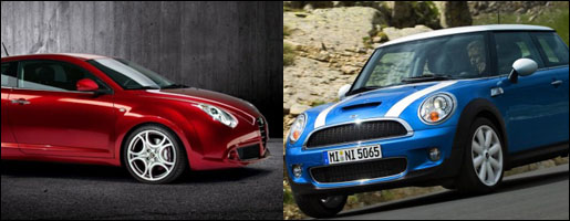Alfa Romeo Mi.To vs. MINI Cooper
