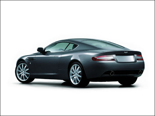 Aston Martin DB9 Achterkant