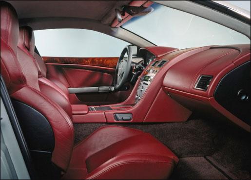 Aston Martin DB9 Interieur