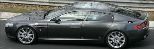 Aston Martin Rapide panoramisch dak