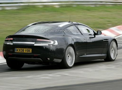 Aston Martin Rapide & Porsche Panamera at Nürburgring