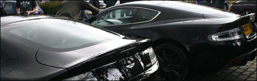 Aston Martin V8 Vantage RS Spyshot