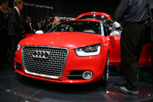 Audi A1 Metroproject Quattro Concept in Tokyo