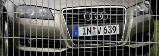 Audi A3 Facelift Front
