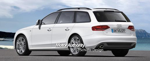 Preview: Audi A4 Avant 2009