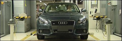 Audi A4 Productielijn