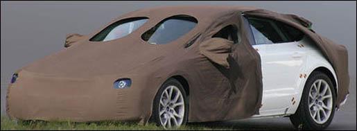 Spyshot Audi A5 Sportback