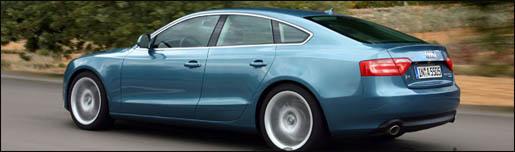Audi A5 SportBack Impressie