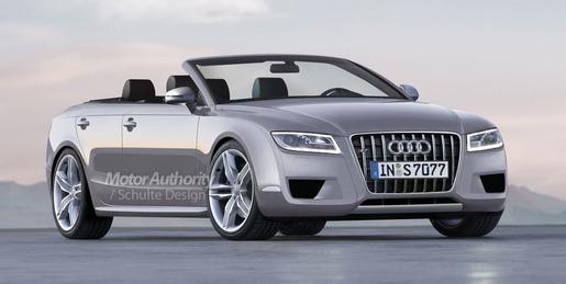 Audi A7 Cabrio 2009 Impressie