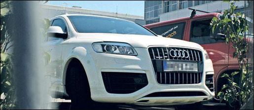Audi Q5 voor