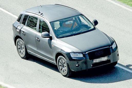 Audi Q5 Spyshot