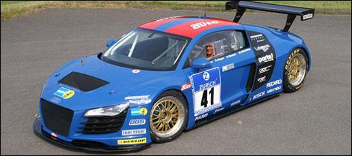 Audi R8 Nürburgring Endurance Racing