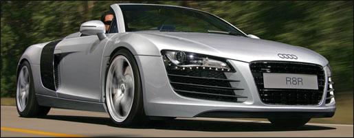 Audi R8 Spider Impressie
