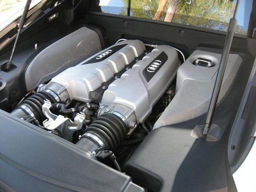 Spyshots: Audi R8 V10