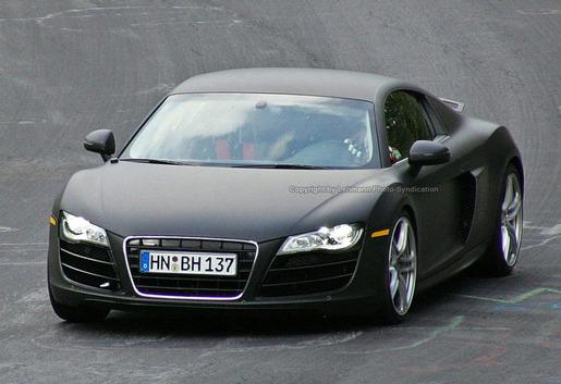 Audi R8 V10 Prototype