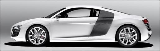 Audi R8 V10 Wit