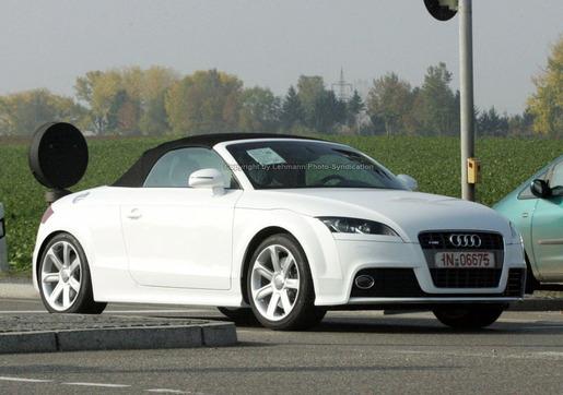 Audi TT-S Spyshot