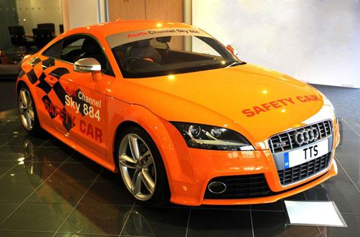 Audi TT-S Isle Of Man TT Safety Car