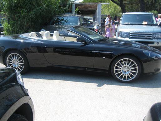 Aston Martin DB9 Volante St. Tropez