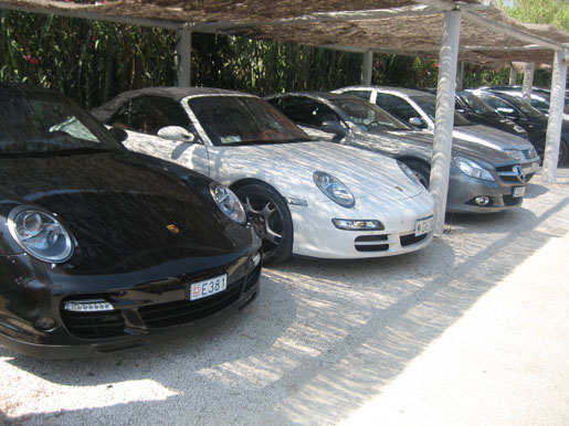 Porsche 911 + Mercedes SL St. Tropez