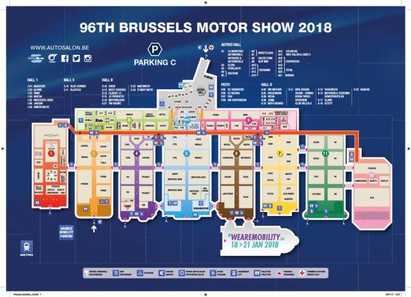 Autosalon van Brussel 2018: praktische informatie