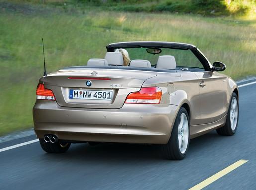 BMW 1-reeks Cabrio 2008