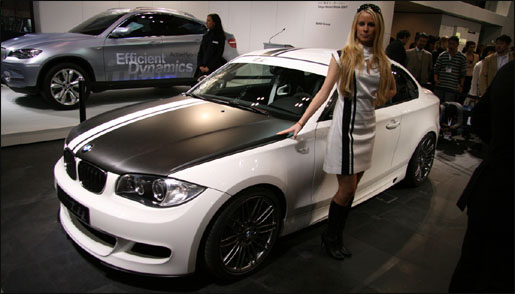 BMW 1 Serie Coupé tti Concept in Tokyo