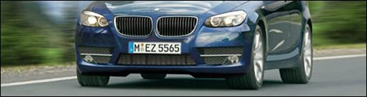 BMW 5 rendered