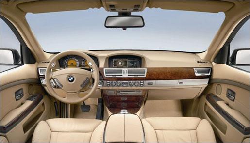 BMW 7 Interieur