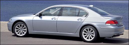 BMW 7 Reeks Serie