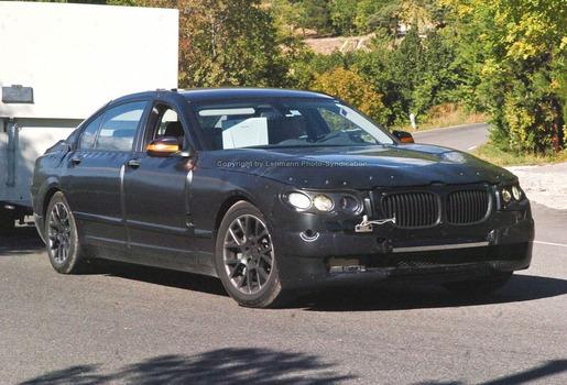 BMW 7 Volgende Generatie Spyshots